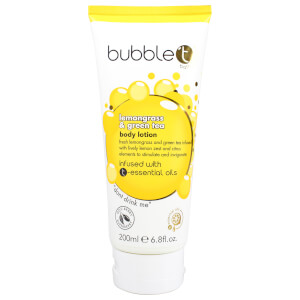 Bubble T Lemongrass and Green Tea Body Lotion -vartalovoide 200ml