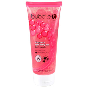 Bubble T Hibiscus and Acai Berry Tea Body Scrub (200 ml)