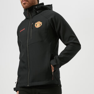 Columbia Men's Manchester United Cascade Ridge Softshell Jacket - Black