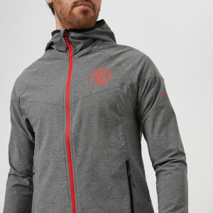 Columbia Men's Manchester United Heather Canyon Jacket - Grey