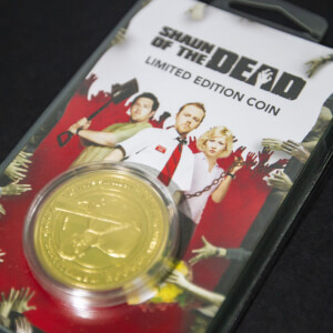 Shaun of the Dead Verzamelmunt: Gouden Variant - Zavvi Exclusive