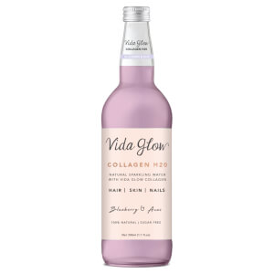 Vida Glow Collagen Sparkling Water - Blueberry and Acai 330ml