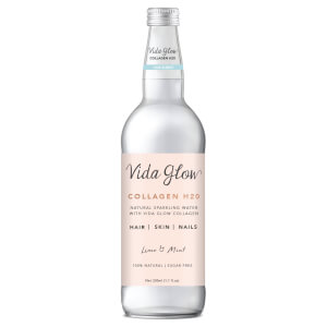 Vida Glow Collagen Sparkling Water - Lime and Mint 330ml