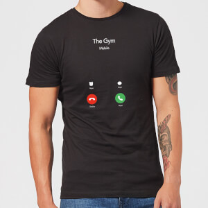 Gym Calling T-Shirt - Black