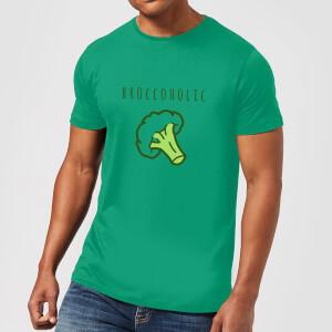 Broccoholic T-Shirt - Kelly Green