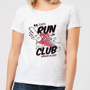 RUN CLUB 99 Women's T-Shirt - White
