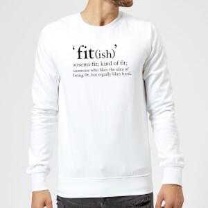 Fit (ish) Sweatshirt - White