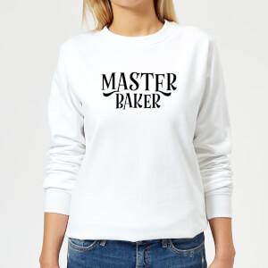 Master Baker Women's Sweatshirt - White