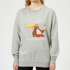 Am I Too Slow? Women's Sweatshirt - Grey