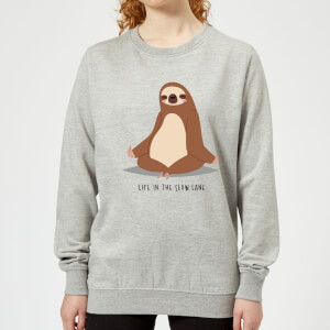 Life In The Slow Lane Women's Sweatshirt - Grey