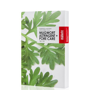 Manefit Beauty Planner Mugwort Astringent + Pore Care Mask (Box of 5)