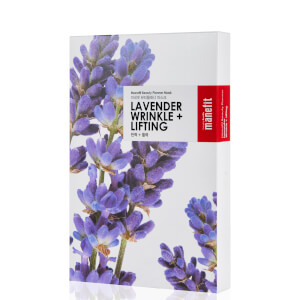 Manefit Beauty Planner Lavender Wrinkle + Lifting Mask (eske med 5)