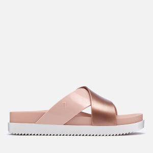 Melissa Women's Cosmic Cross Flatform Sandals - Blush