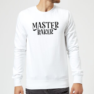 Master Baker Sweatshirt - White