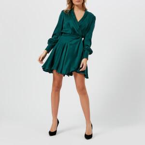 Zimmermann Women's Wrap Mini Dress - Forest