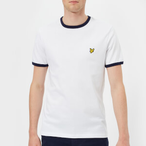 Lyle & Scott Men's Ringer T-Shirt - White