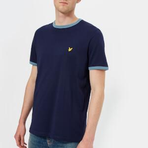Lyle & Scott Men's Ringer T-Shirt - Navy