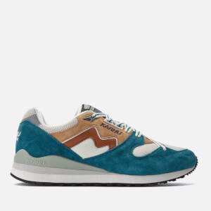 Karhu Men's Synchron Classic Trainers - Blue Coral/Glazed Ginger