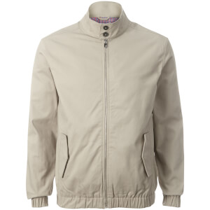 Broken Standard Men's Hickory Harrington Jacket - Stone
