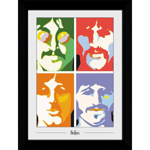 The Beatles Sea of Science Collector's 50 x 70cm Framed Photograph