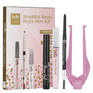 Kit de cejas Beautiful Brows Begin Here de Billion Dollar Brows