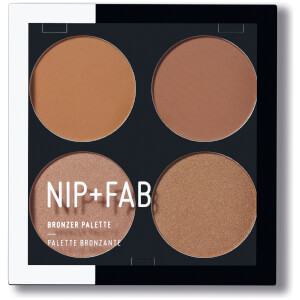 Палетка бронзаторов NIP + FAB Make Up Blusher Palette - Bronzed 01 15,2 г