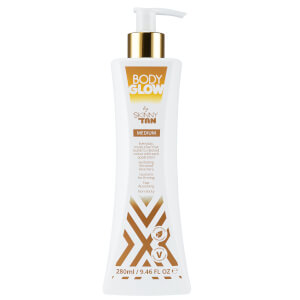 Body Glow by SKINNY TAN lozione media 280 ml