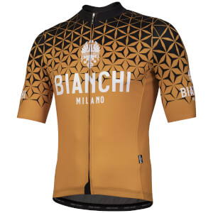 Bianchi Conca Short Sleeve Jersey - Orange