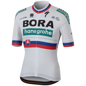 Sportful Bora Hansgrohe BodyFit Team Jersey - Slovakian National Champion Edition