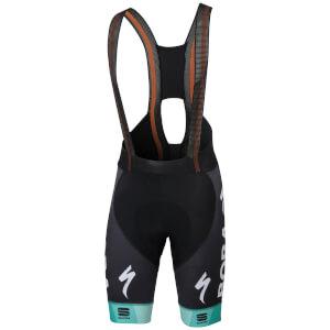 Sportful Bora Hansgrohe BodyFit Pro LTB Bib Shorts - Black