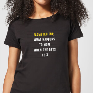 Momster Women's T-Shirt - Black