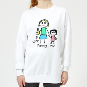 Mummy & Me Women's Sweatshirt - White