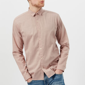 Oliver Spencer Men's Clerkenwell Tab Shirt - Elcot Pink