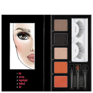 Kit de Pestanas, Olhos e Lábios Looks to Kill Sultry Night Out da Ardell (105)