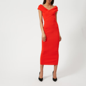 Solace London Women's Cecile Dress - Red