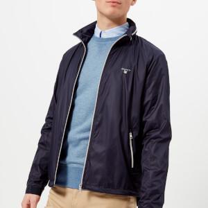 GANT Men's Windbreaker Jacket - Classic Blue