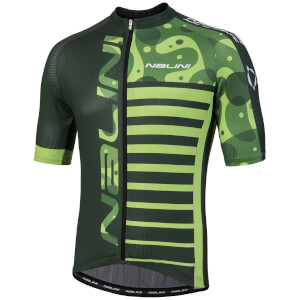 Nalini Cross Short Sleeve Jersey - Green