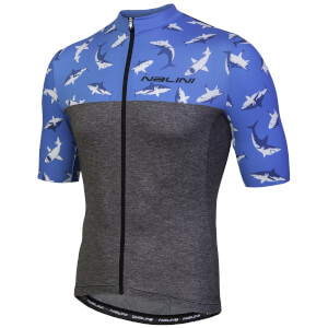 Nalini Centenario Short Sleeve Jersey - Grey/Shark