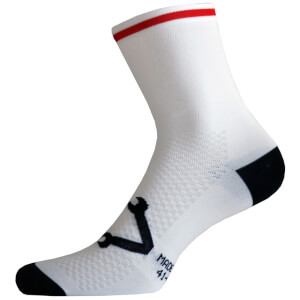 Nalini Lampo Socks - White