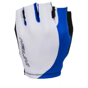 Nalini Logo Mitts - White/Blue