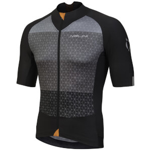 Nalini Stelvio Short Sleeve Jersey - Black/Grey
