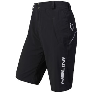 Nalini Crocodile MTB Shorts - Black