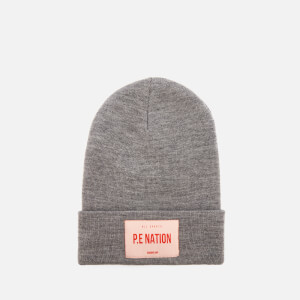 P.E Nation Women's The Kayo Woolmark Collection Beanie Hat - Grey Marl