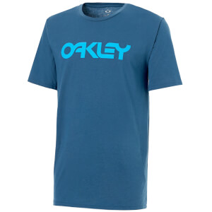 Oakley Men's 110C-Mark II T-Shirt - Blue