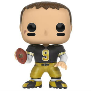 Figura Funko Pop! EXC. Throwback Jersey Drew Brees - NFL