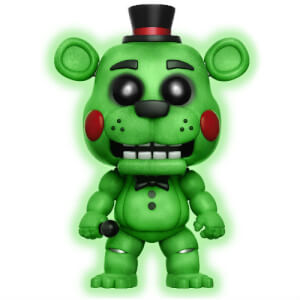 Five Nights at Freddy's Toy Freddy GITD EXC Pop! Vinyl Figure