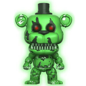 Figurine Pop! Nightmare Freddy Vert EXC - Five Nights at Freddy's