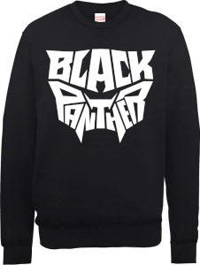 Black Panther Emblem Sweatshirt - Black