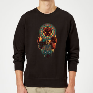 Sweat Homme Totem Black Panther - Noir