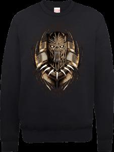 Sweat Homme Gold Erik Black Panther - Noir